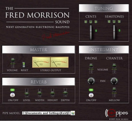 New Virtual Bagpipe VST – The Fred Morrison Sound – Synthtopia