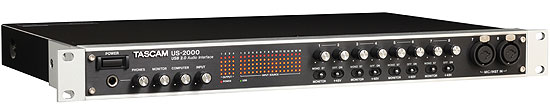 tascam-us-2000-audio-interface