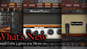 Free Upgrade to AmpliTube 2 DUO and get Ampeg SVX UNO