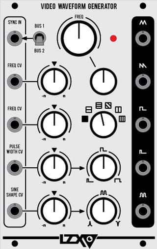 lzx-video-waveform-generator