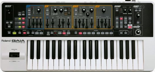 Roland GAIA Synthesizer SH-01 Is A World Of Sexy – Synthtopia