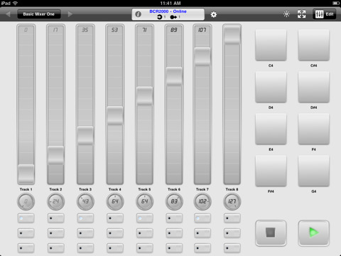 new ipad app midi touch lets you design your own midi controller synthtopia. Black Bedroom Furniture Sets. Home Design Ideas