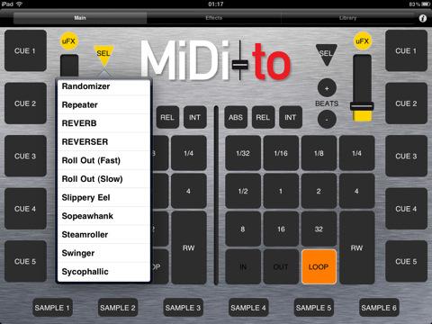 MiDi-to is a wireless DJ MiDi controller designed for Serato Scratch Live