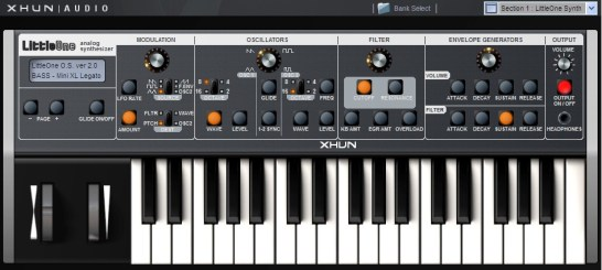 Moog Little Phatty Software Synthesizer