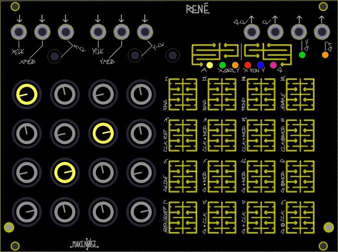 Make Noise René Sequencer Hands-On Demo