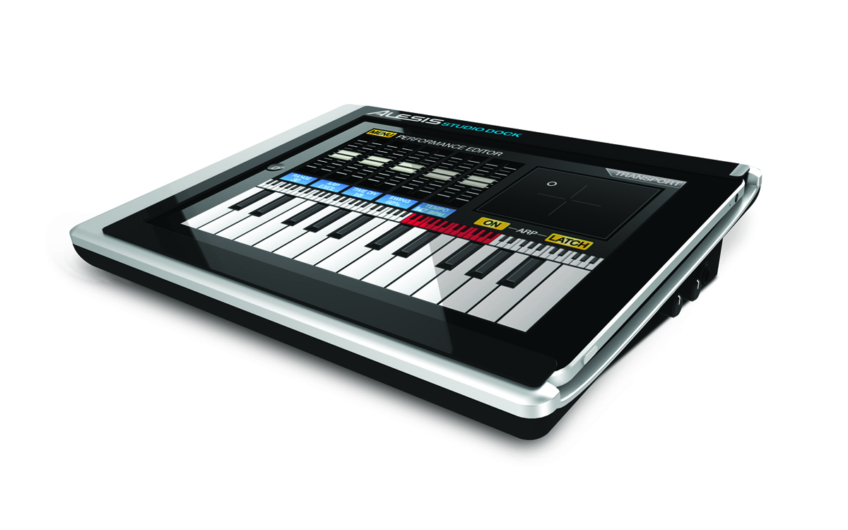 alesis studiodock turns your ipad into music workstation synthtopia. Black Bedroom Furniture Sets. Home Design Ideas