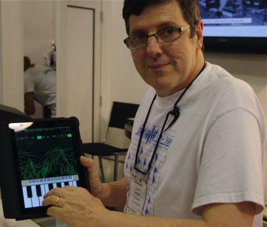 Fairlight CMI synthesizer on iPad