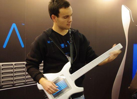 Misa Kitara digital guitar at 2011 NAMM Show