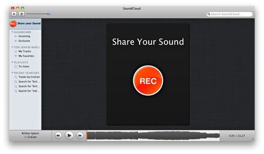 Free Mac SoundCloud App
