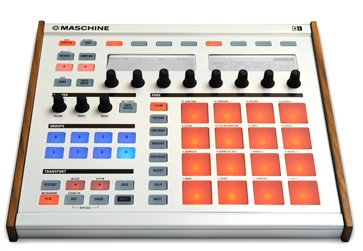 Win a custom white Maschine