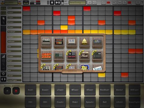 DrumTrack HD iPad Drum Machine