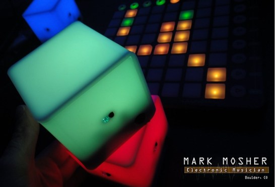 Mark Mosher Audiocubes