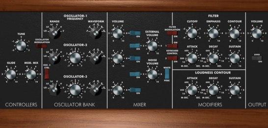 Minimoog Model D Synthesizer Windows Plugin