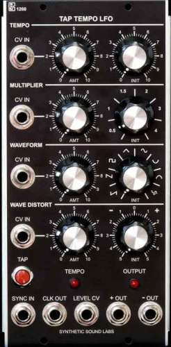 Synthetic Sound Labs releases Model 1260 Tap Tempo LFO