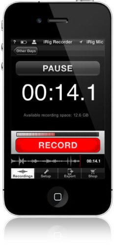 iRig recorder for iOS
