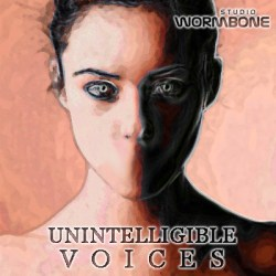 unintelligible voices sample library