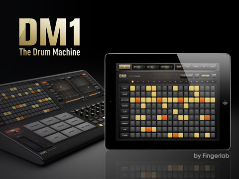 iPad drum machine