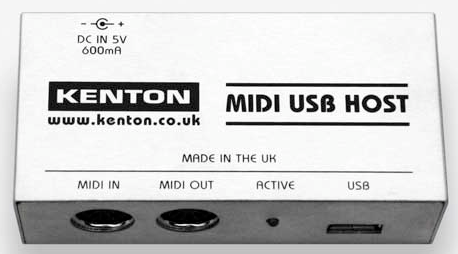 Kenton USB MIDI Host