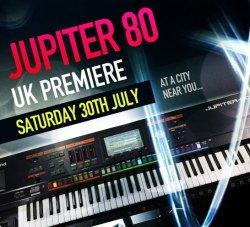 Roland Jupiter 80 UK Launch