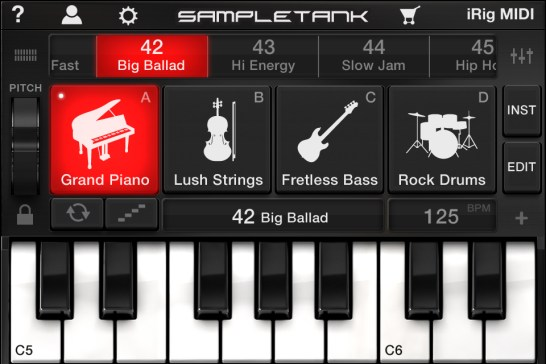 SampleTank for iOS