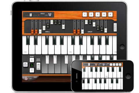 Hammond Organ for iOS, C3B3