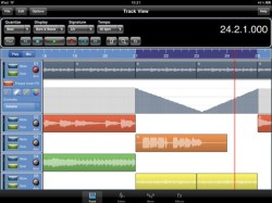 Meteor Multitrack for the iPad