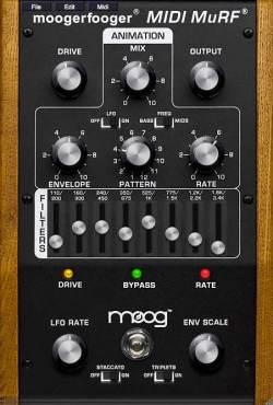 Moogerfooger MIDI Murf VST