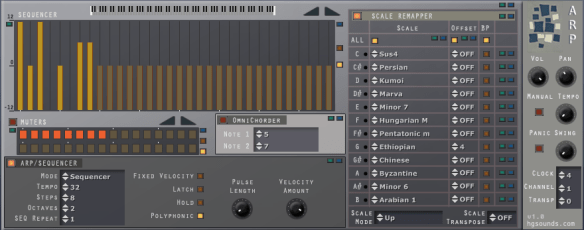 ARP sequencer