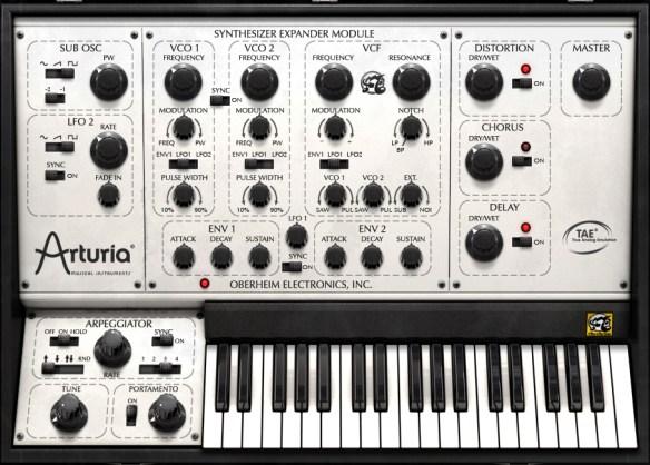 Arturia Oberheim Synthesizer Expander Module