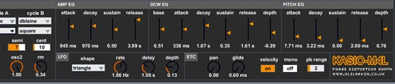 Free Synth For Ableton Live