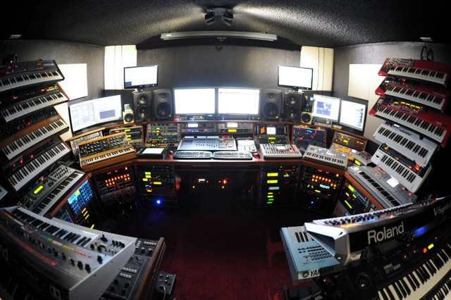 The Ultimate Synth Cave