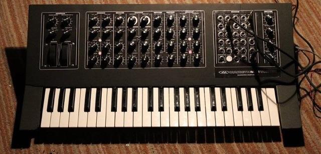 Macbeth Vortex keyboard synthesizer