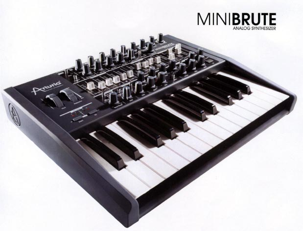 arturia minibrute analog synthesizer sneak preview synthtopia. Black Bedroom Furniture Sets. Home Design Ideas