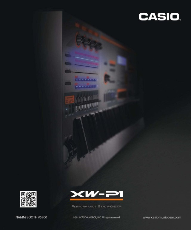 Casio WX-P1 Synthesizer