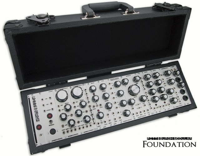 Pittsburgh Modular Foundation Suitcase Synthesizer
