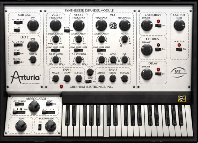 Arturia SEM V synthesizer