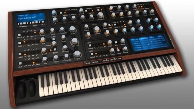 Tone 2 Saurus Synthesizer