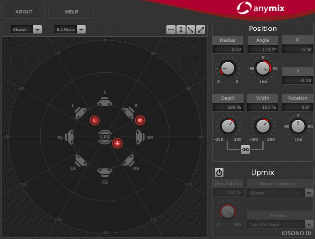 Iosono Intros Anymix Surround Mixing Plugin For Mac Amp Windows Synthtopia