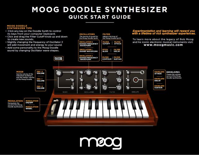 Moog Doodle synth minigoog