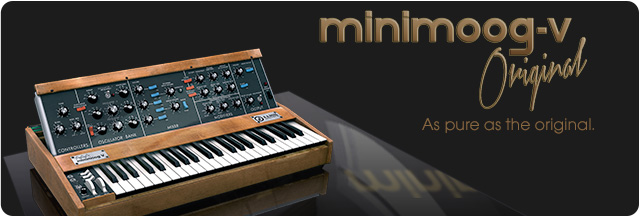 Get A Free Minimoog Software Synth From Arturia! – Synthtopia