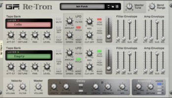 New Mellotron Rack Extension for Reason, ChamberTron RE