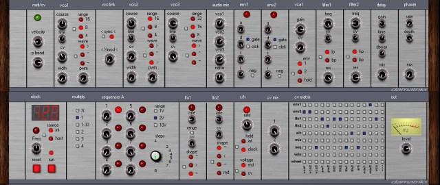 Modular Synthesizer Nl : free modular synth for windows datmatriks synthtopia ~ Russianpoet.info Haus und Dekorationen
