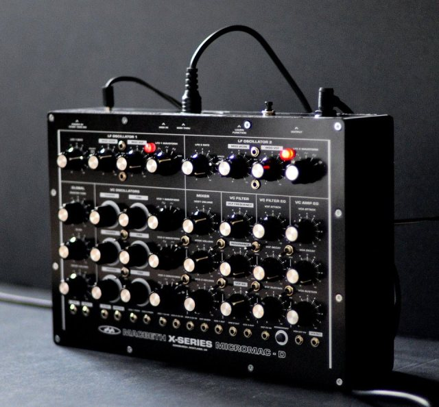 MacBeth Micromac D synthesizer