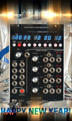 euclidean sequencer for modular synthesizers synthtopia. Black Bedroom Furniture Sets. Home Design Ideas