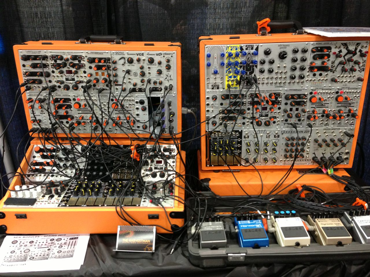 modular synthesizers at the 2013 namm show synthtopia. Black Bedroom Furniture Sets. Home Design Ideas