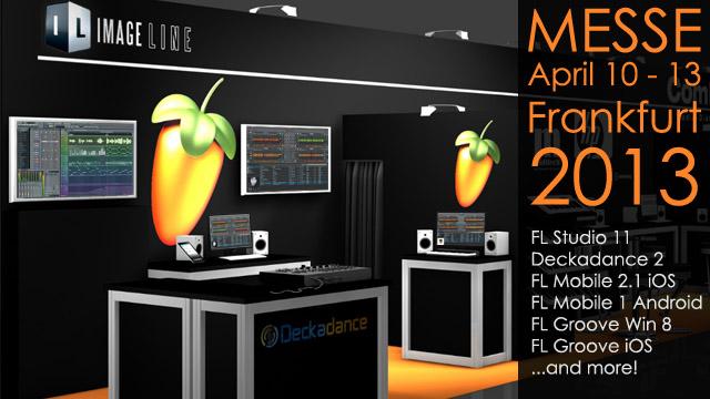 Image-Line Introducing FL Studio 11 At Musikmesse 2013