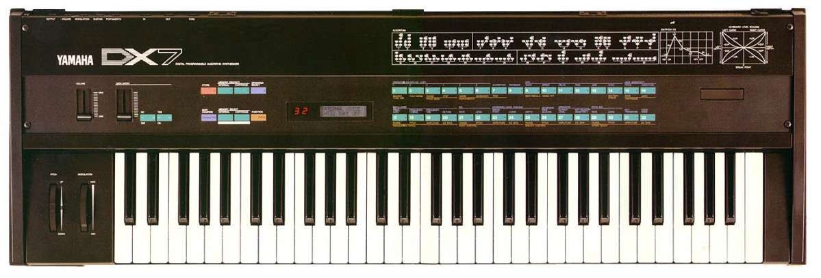 This Is How They Promoted The Yamaha DX7 In 1983 – Synthtopia