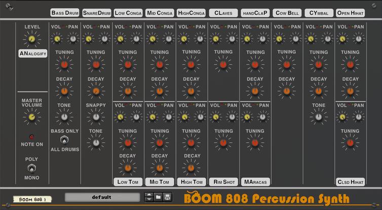 Jugg 808 Drum Kit