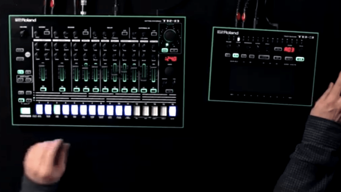Roland Aira Tr 8 Tb 3 Vt 3 Amp System 1 Synthesizer
