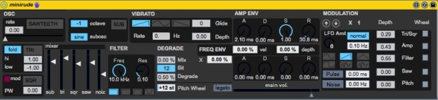 MiniRude v1.1  screenshot